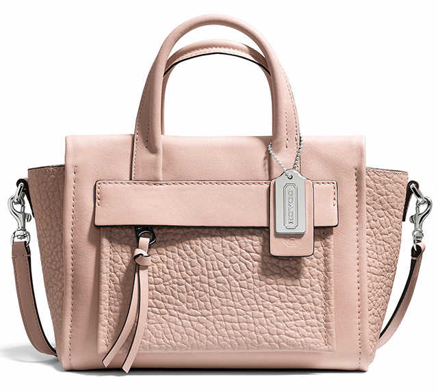 Coach Bleecker Mini Pocket Carryall Peach Rose