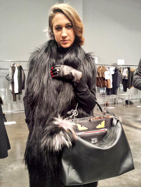 Delfina Delettrez Fendi Men's Peekaboo Bag