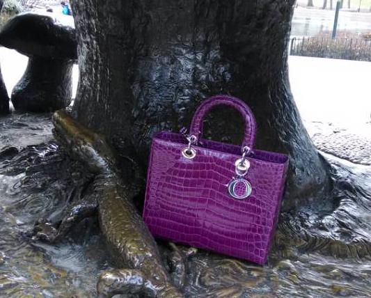 Dior Crocodile Lady Dior Bag