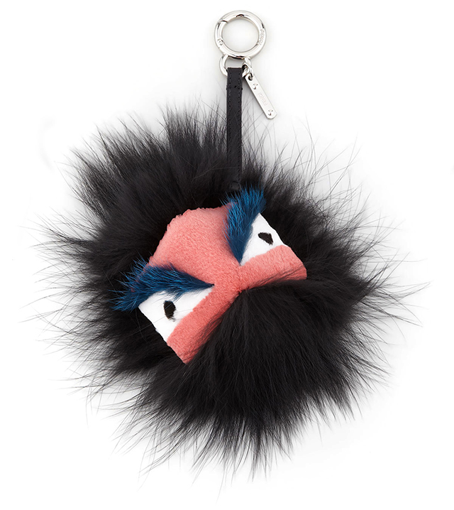 Fendi Fur Monster Handbag Charm
