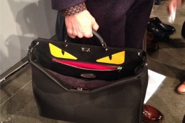 Fendi Introduces the Men's Peekaboo Bag at Milan Fashion Week