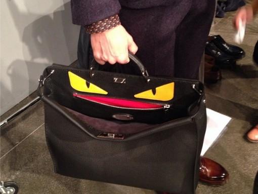 Fendi Introduces the Men's Peekaboo Bag at Milan Fashion Week