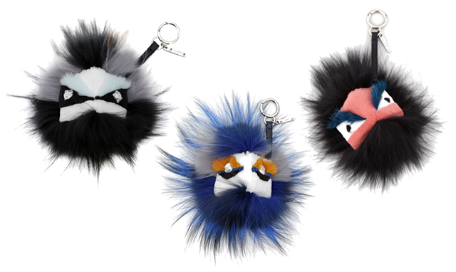 Fendi Monster Bag Bug Charms