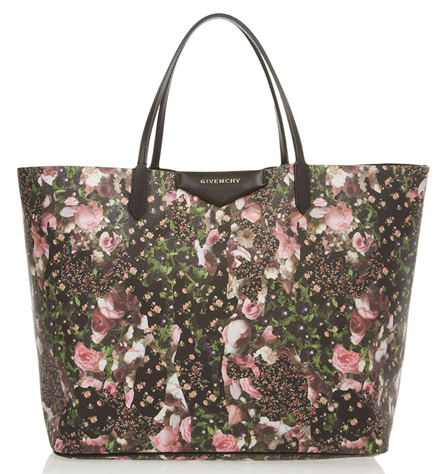 Givenchy Antigona Floral Shopping Tote