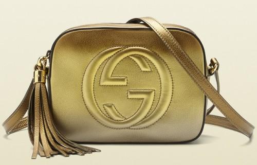 Gucci Soho Disco Gold Bag
