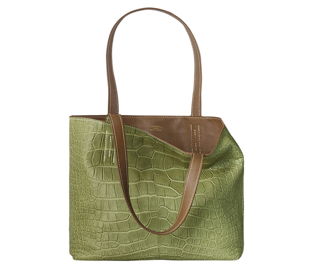 Hermes Double Sens Chiffon PM Bag Green