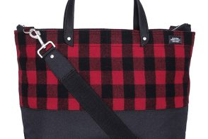 Man Bag Monday: Jack Spade Dipped Buffalo Plaid Utility Tote