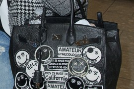 Kelly Osbourne Has Embellished her Birkin (or Has She?)