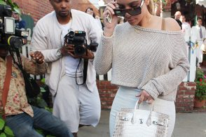 Kim Kardashian Has a Major New Hermes Birkin on Her Arm
