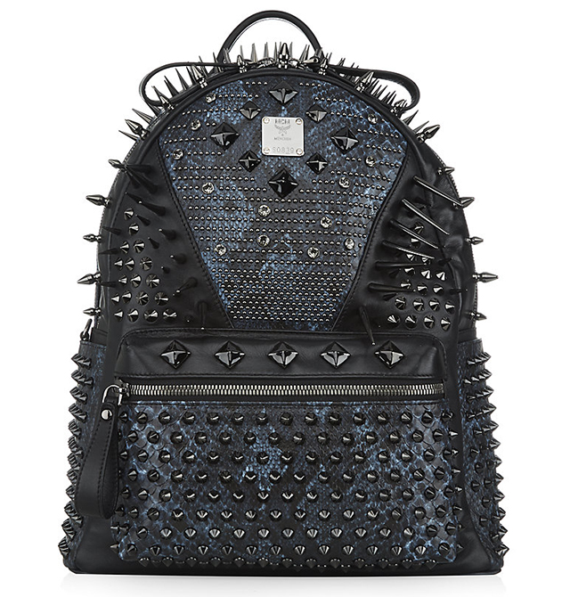MCM Medium Spikes and Studs Backpack