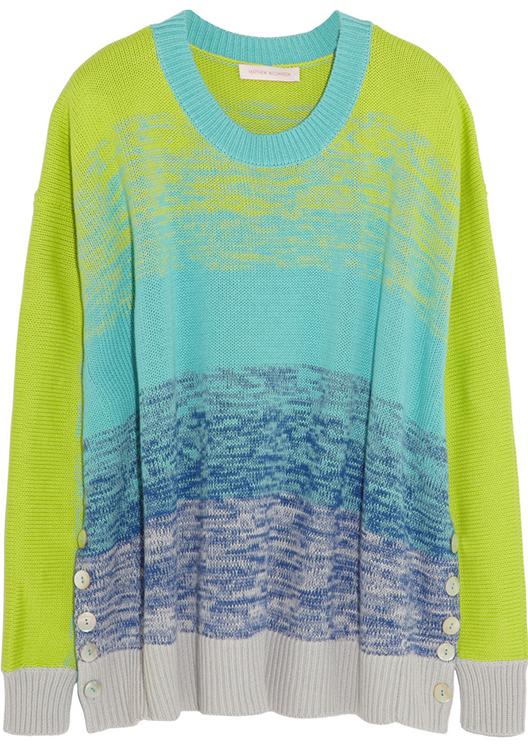 Matthew Williamson Digital Haze Neon Sweater