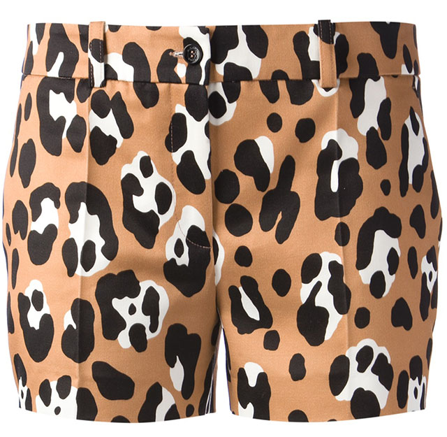 Michael Kors Leopard Shorts