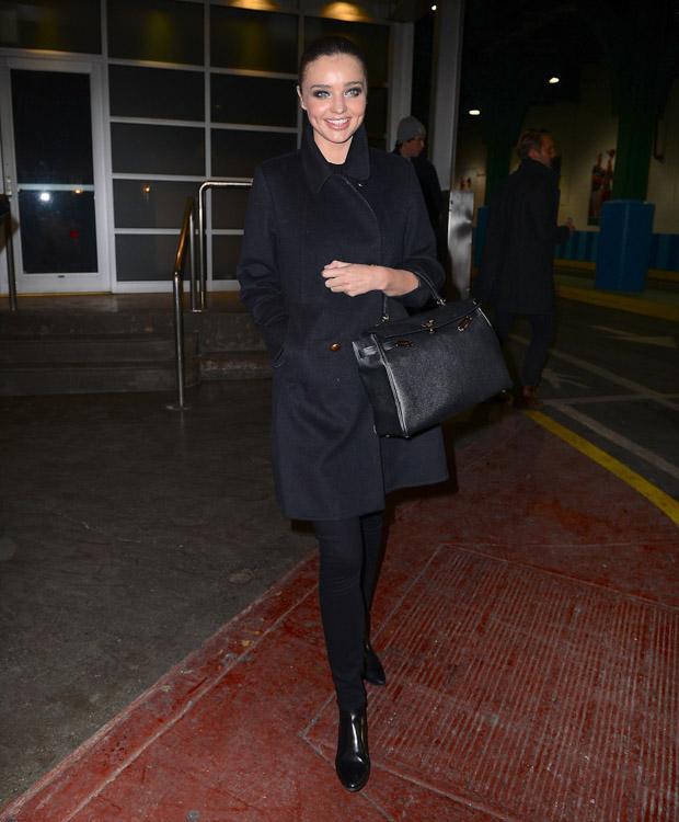 Miranda Kerr Hermes Kelly Bag-1