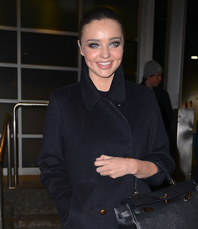 Miranda Kerr Hermes Kelly Bag-2