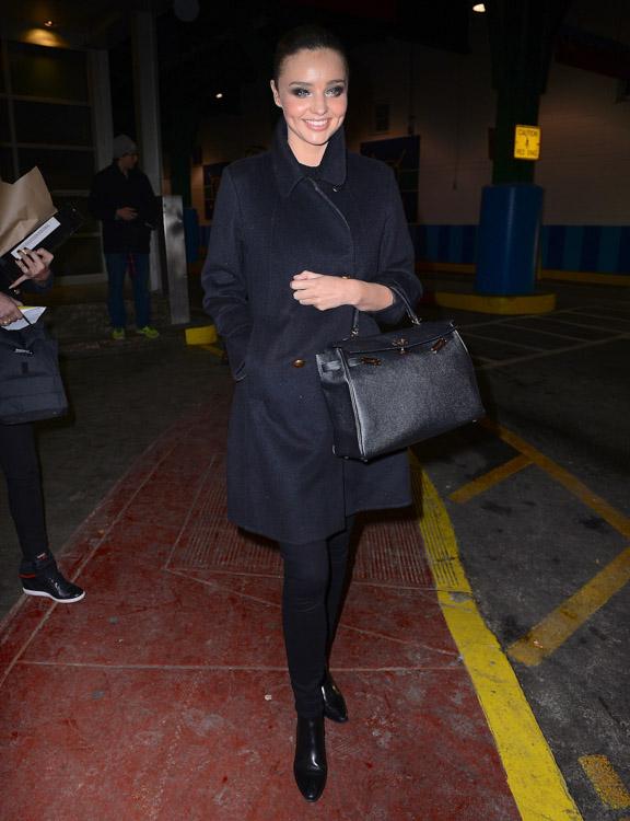Miranda Kerr Hermes Kelly Bag-3