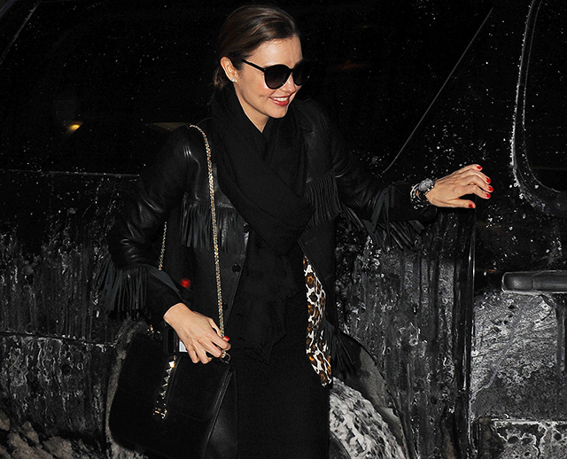 Miranda Kerr Valentino Lock Shoulder Bag