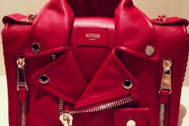 Unfortunately, This Moschino Leather Jacket Bag Won't Keep You Warm