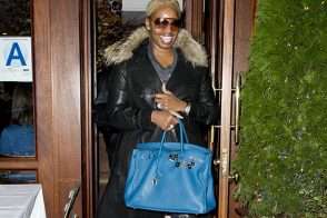 Nene Leakes Dines in NYC with Hermes and a Fellow Housewife