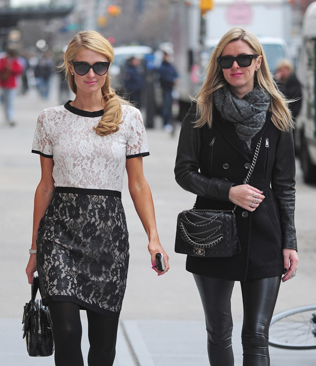 Nicky Hilton Chanel Chain Boy Bag-3