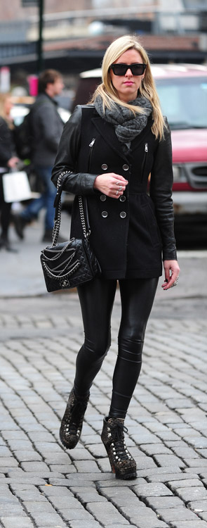Nicky Hilton Chanel Chain Boy Bag-4