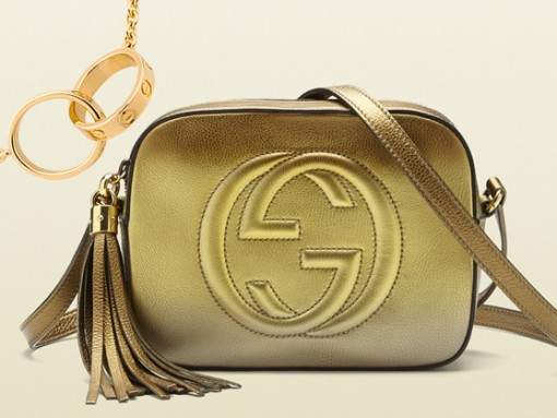 Perfect Pairs: Gucci Soho Disco Bag and Cartier LOVE Necklace