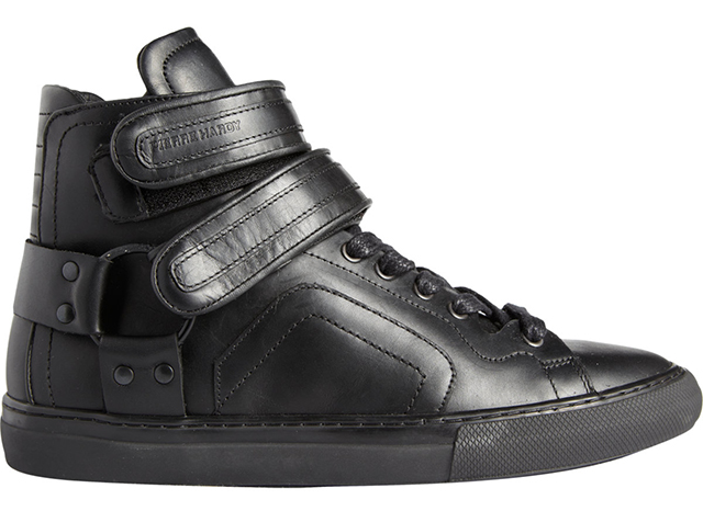 Pierre Hardy ES01 Double Strap High Top Sneakers