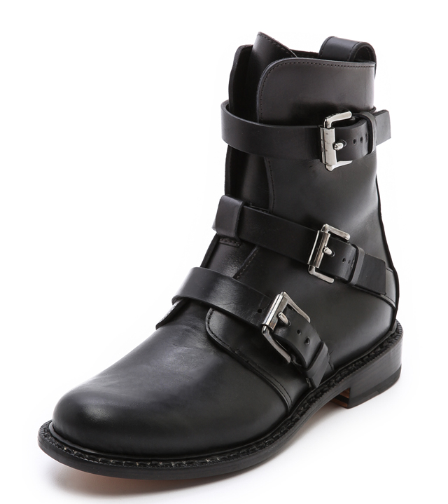 Rag and Bone Hudson Buckle Boots