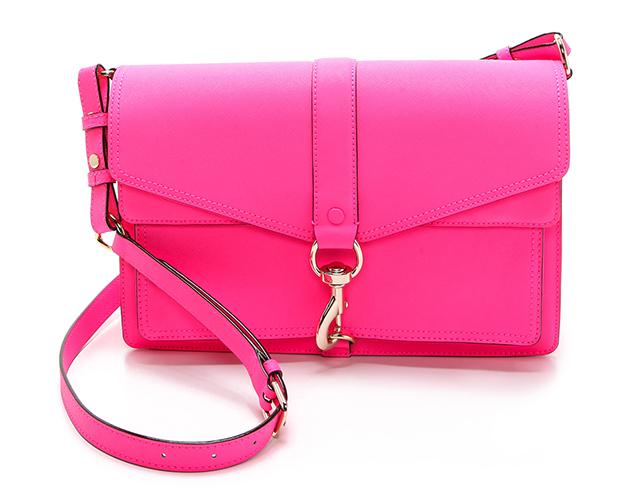 Rebecca Minkoff Neon Hudson Moto Bag