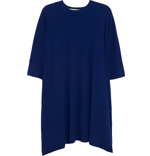 Richard Nicoll Stella Draped Cashmere Dress