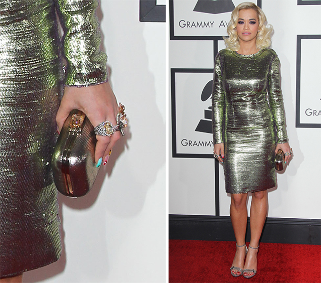 Rita Ora Jimmy Choo Cloud Clutch