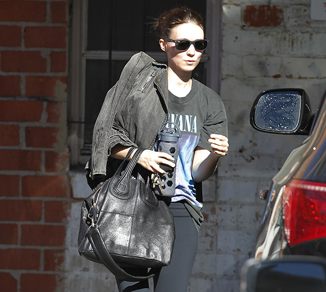 Rooney Mara Givenchy Nightingale Bag