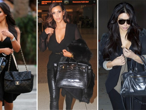 The Many Bags of Kim Kardashian