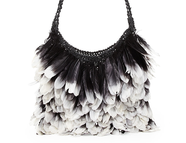 Love It or Leave It  Tom Ford Feather Hobo - PurseBlog df783aaffd205