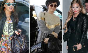 the many bags of Demi Lovato