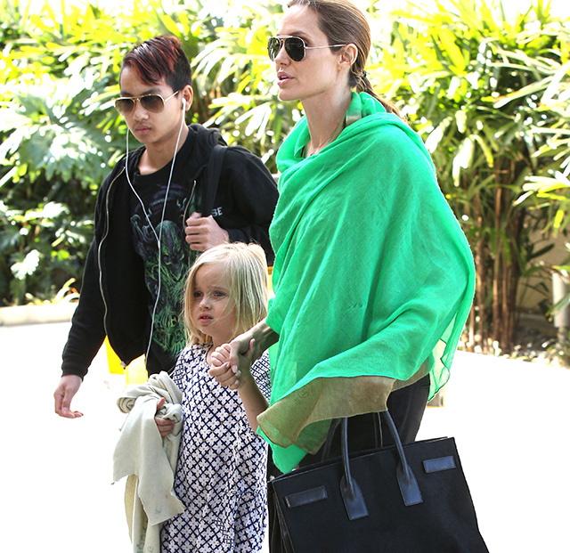 Angelina Jolie Saint Laurent Sac de Jour