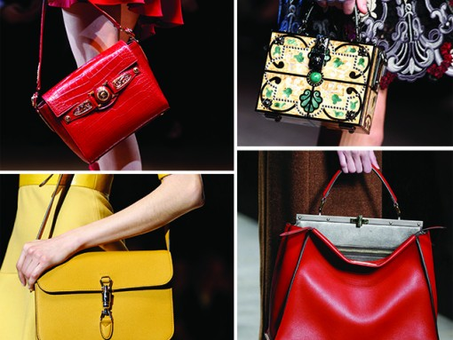 The Best Bags of Milan Fashion Week Fall 2014