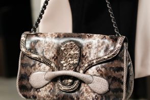 Bottega Veneta Turns to Snakeskin for Fall 2014 Handbags