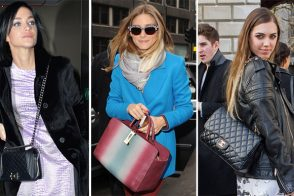 The Many Bags of Celebs at London Fashion Week Fall 2014