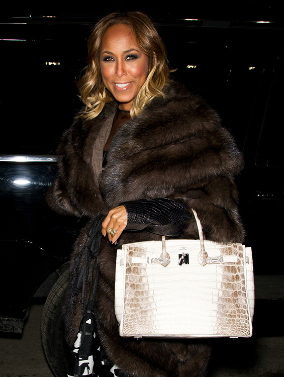 Celebrity Handbags New York Fashion Week Fall 2014 50