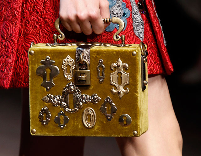 Dolce and Gabbana Fall 2014 Handbags 3
