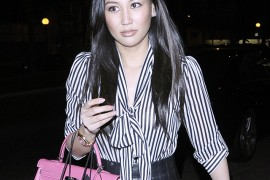 Beverly Hills Rich Kid Dorothy Wang Carries Pink Hermes