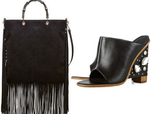 Perfect Pairs: Gucci Bamboo and Tibi Mules