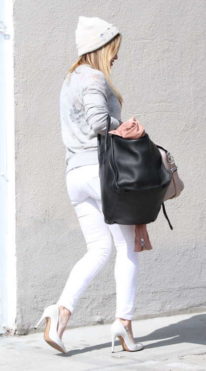 Hilary Duff Givenchy Antigona Celine Luggage Tote-4