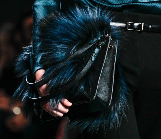 Jason Wu Fall 2014 Fur Shoulder Bag