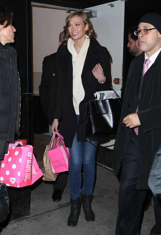 Karlie Kloss Coach Borough Bag-2