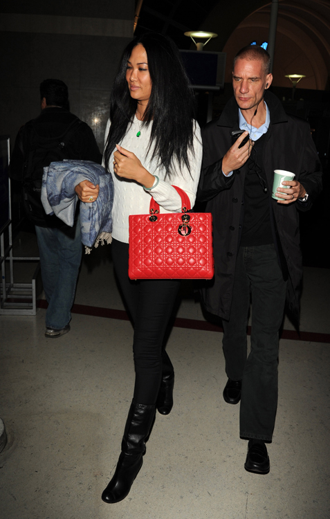 Kimora Lee Simmons Dior Lady Dior Bag 1