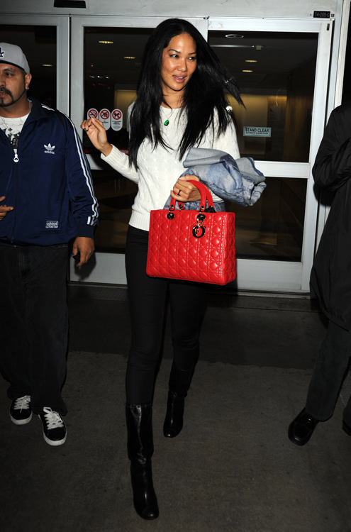Kimora Lee Simmons Dior Lady Dior Bag 2