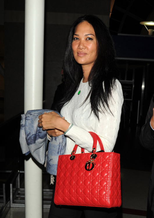Kimora Lee Simmons Dior Lady Dior Bag 3