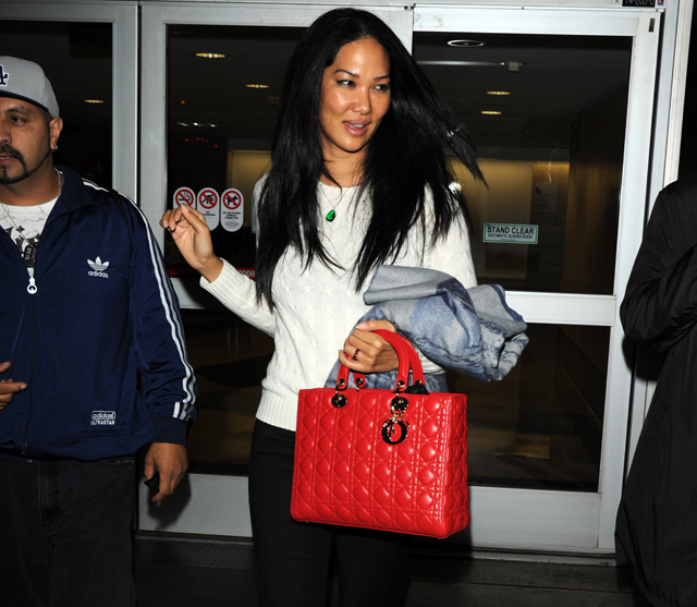 Kimora Lee Simmons Dior Lady Dior Bag