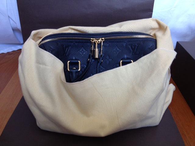 Louis Vuitton Monogra Empreinte Speedy Bag